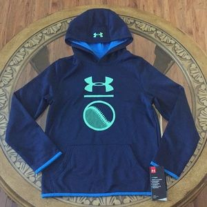 UNDER ARMOUR COLD GEAR (YM) BOYS HOODIE